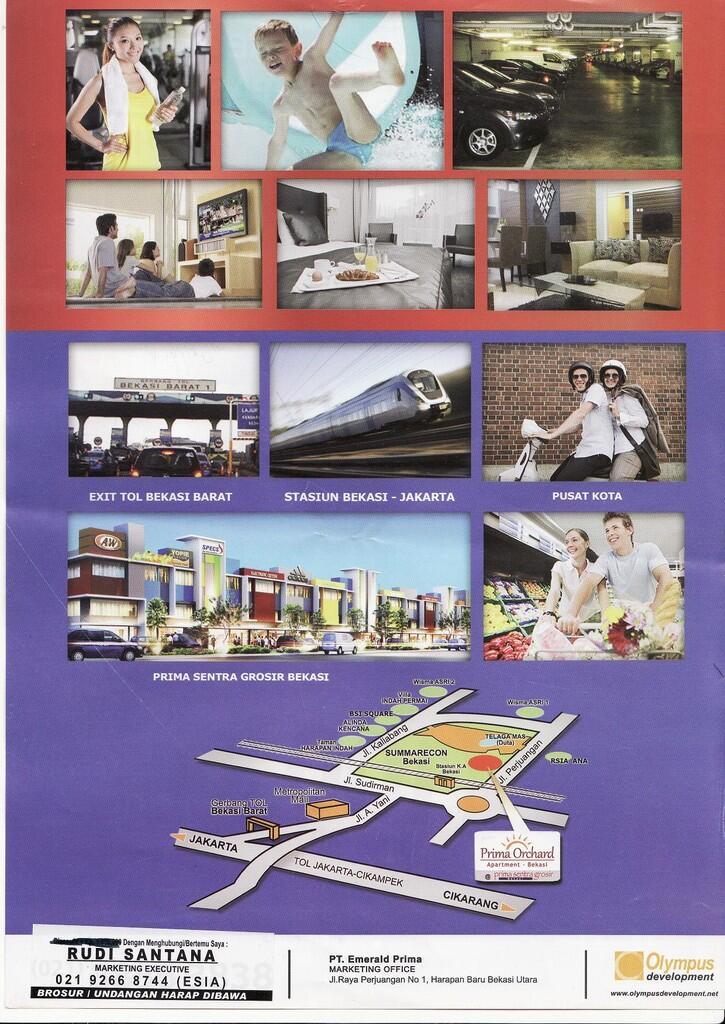 Apartment bekasi sumarecon hanya 100 unit perdana studio