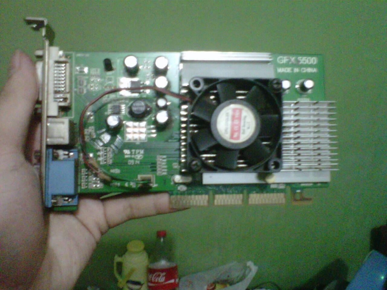 VGA NVIDIA GEFORCE FX5500 256Mb 128bit [AGP]