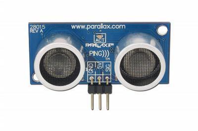 Sensor Ultrasonic PING Parallax