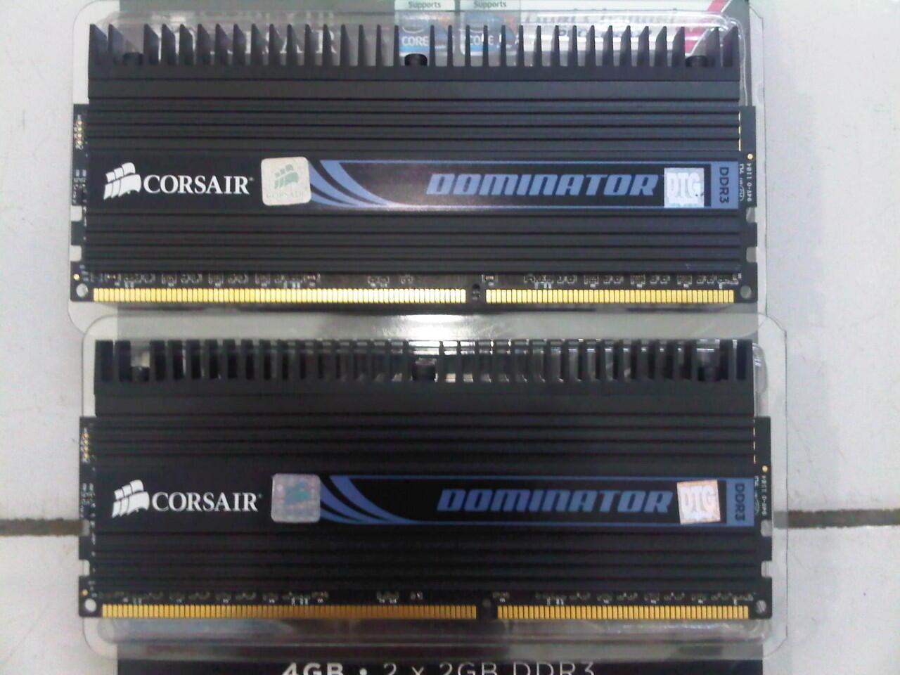 WTS Corsair DDR3 XMS3 Dominator PC12800 4GB (2X2GB)