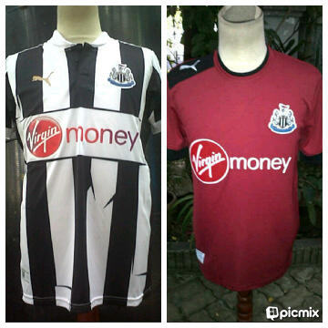 NEWCASTLE HOME,AWAY,PI/GO,CUSTOME NAME,PATCH,READY STOCK SIZE S,M,XL