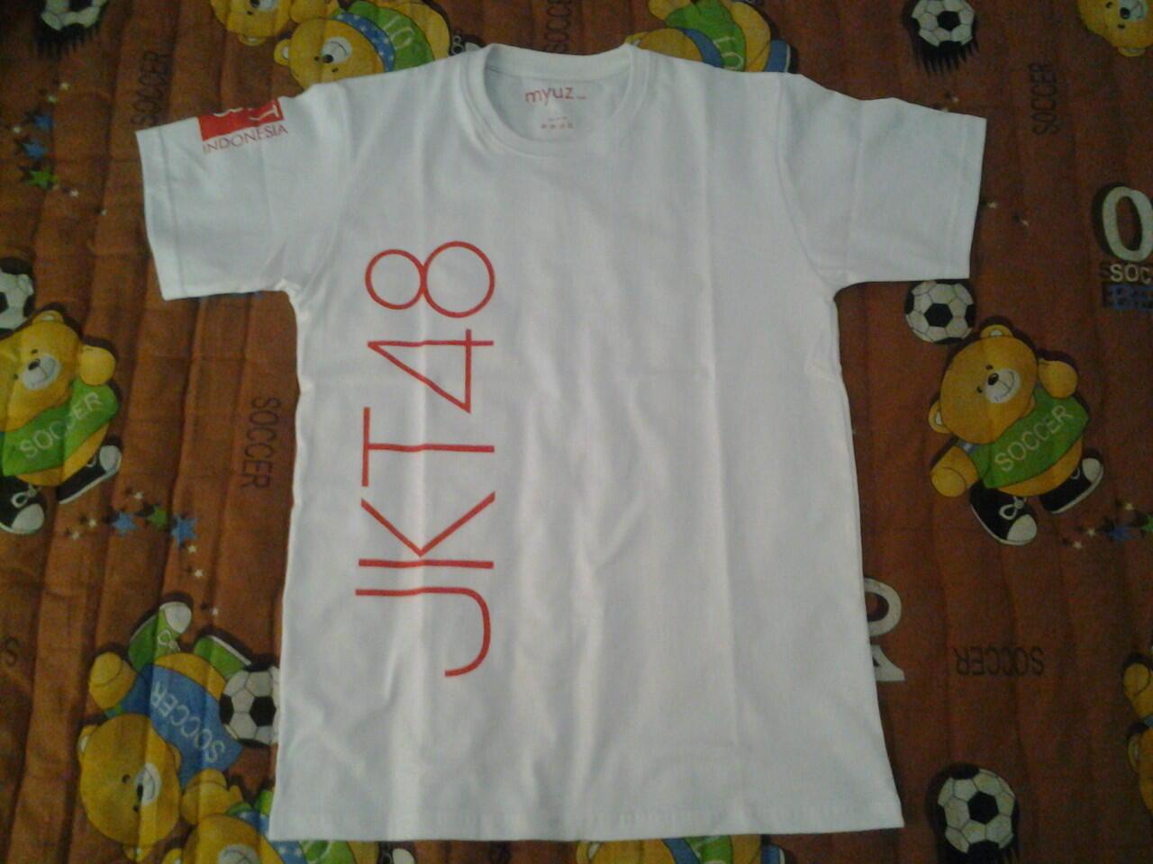 Desain t shirt jkt48 - Kaos T Shirt Jkt48 River Ready Stock