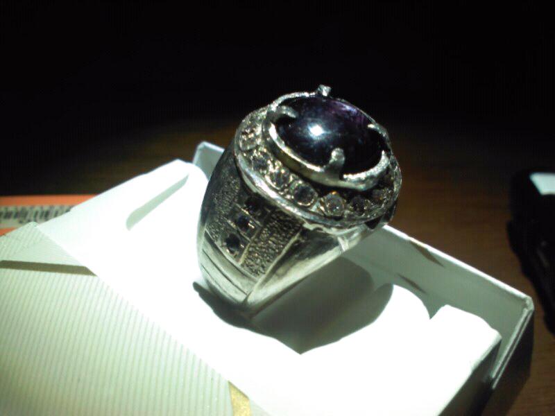 cincin batu gemstone