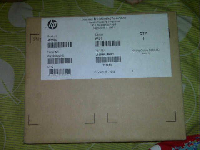 Jual Switch HP Procurve 1410-8G (J9959)