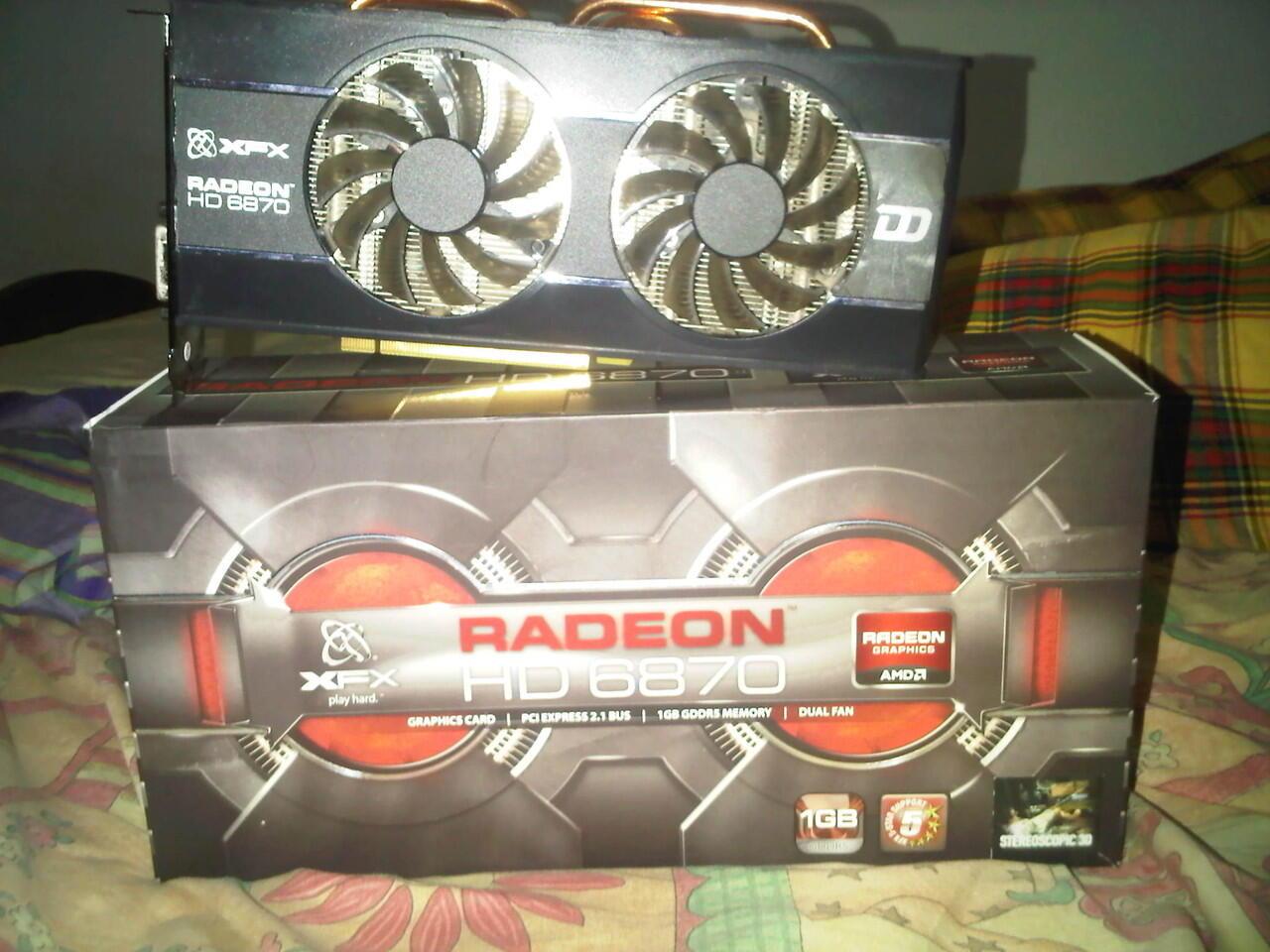 XFX HD Radeon 6870 DD