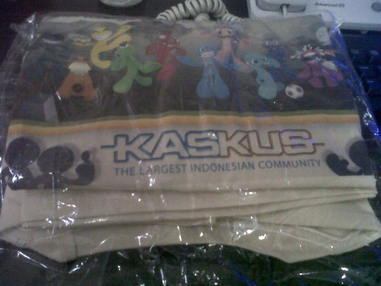 [Ready Stock] Kaos KASKUS exclusive Design Depan dan Belakang dengan ID KASKUS AGAN..
