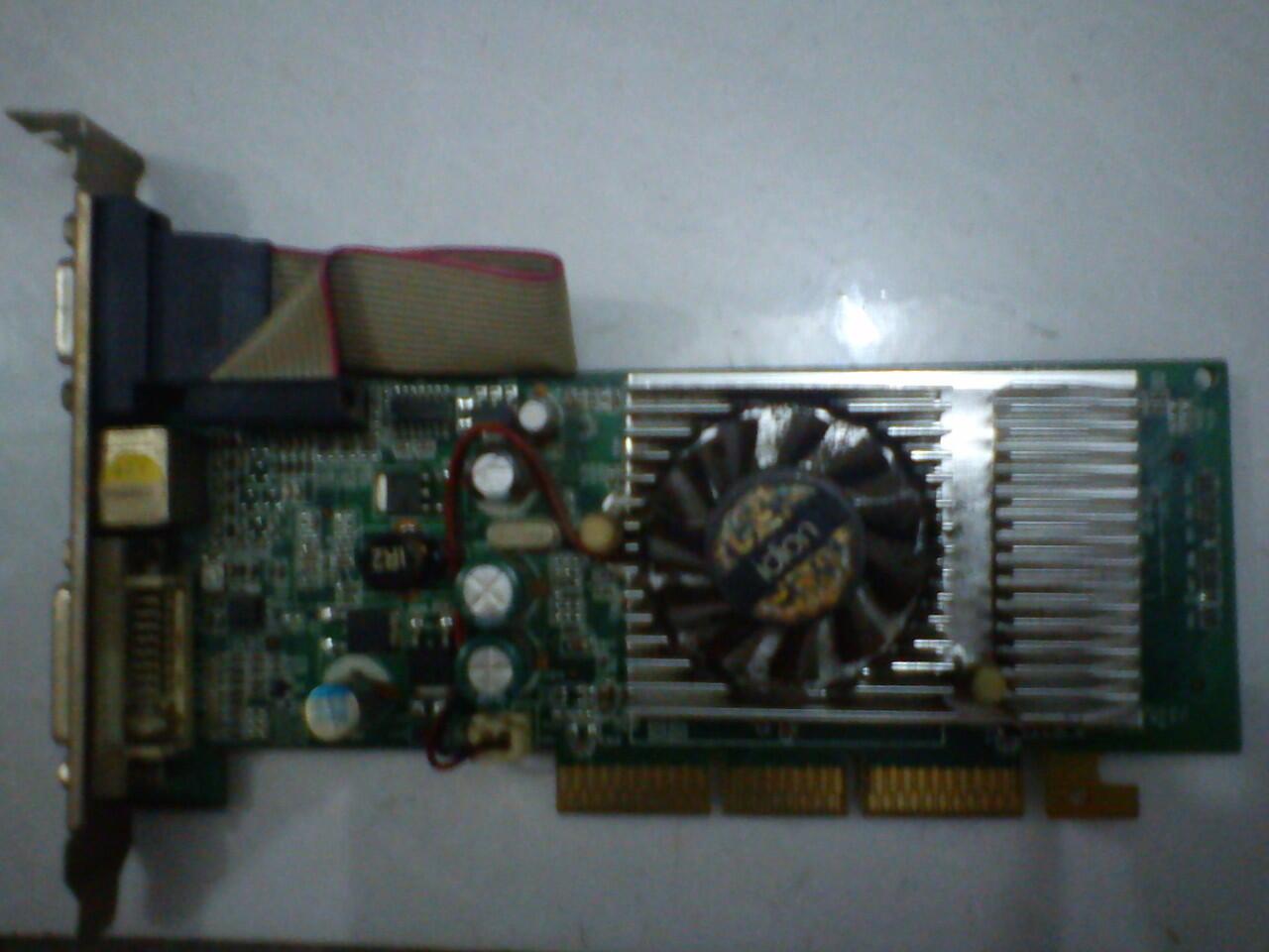 VGA AGP GeForce 6200 256MB 128bit