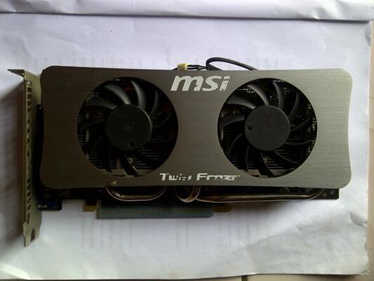 VGA MSI GTS 250 512MB 256BIT TWIN FROZR