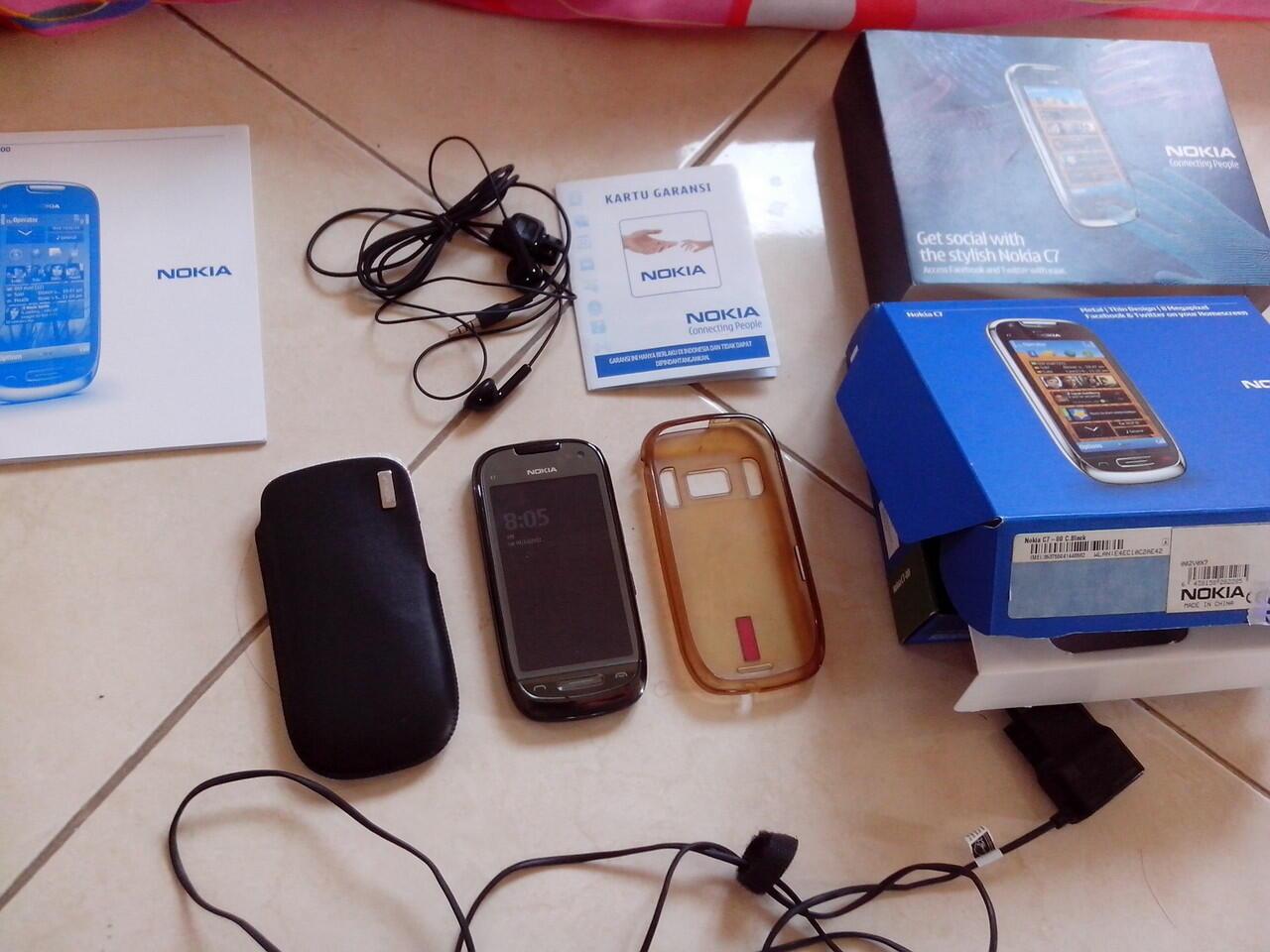 Jual Nokia C7 second like