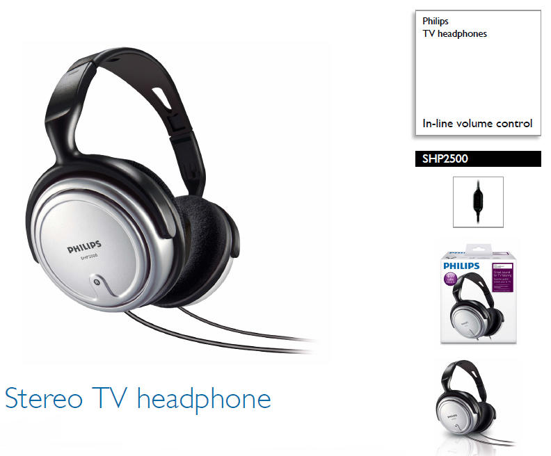 Headset / Headphone PHILIPS SHP 2500 MURAH (like new)