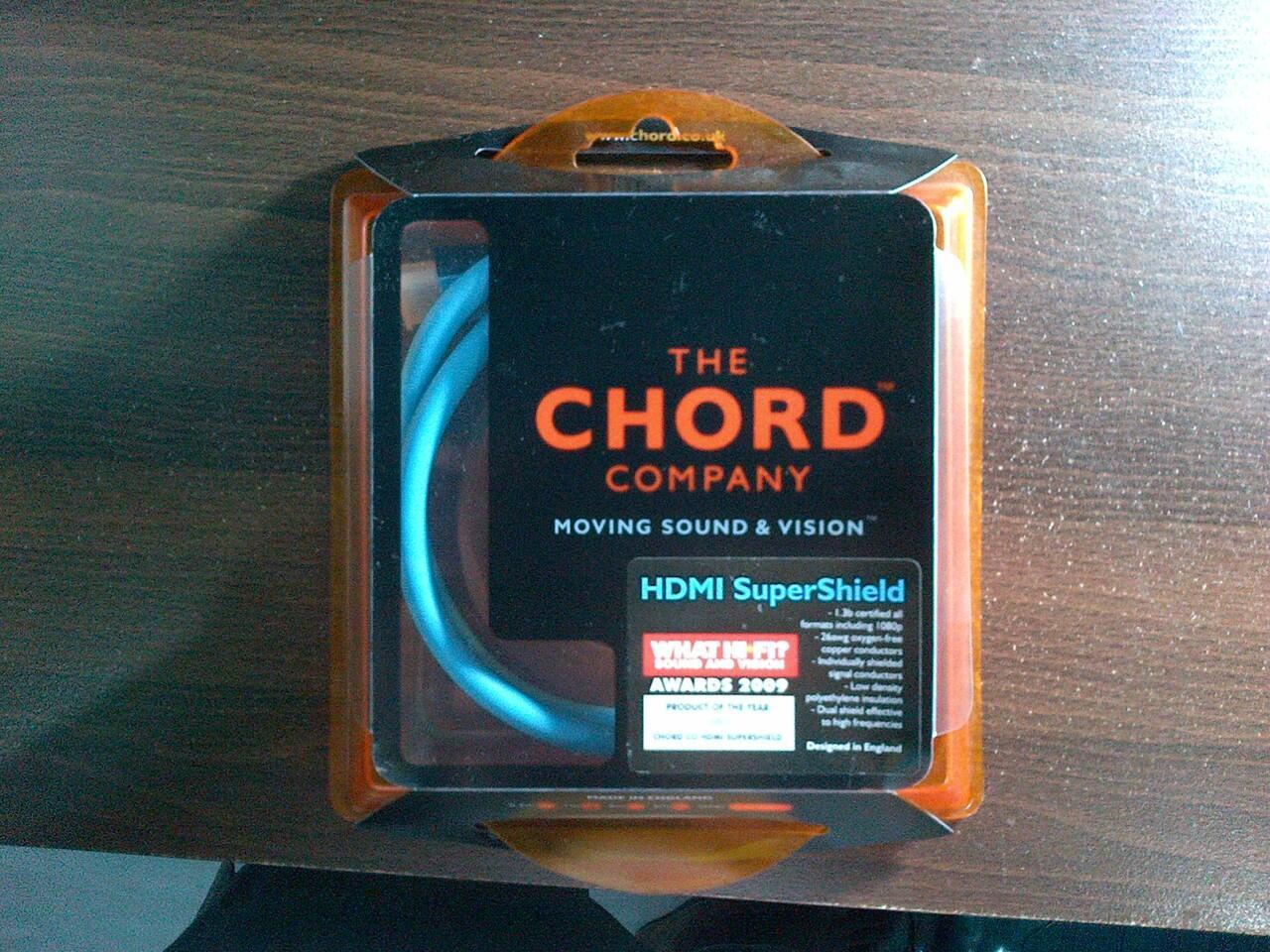KABEL HDMI CHORD SUPERSHIELD