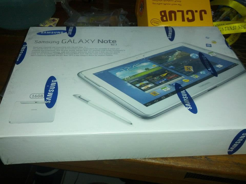 WTS galaxy note 10.1 II