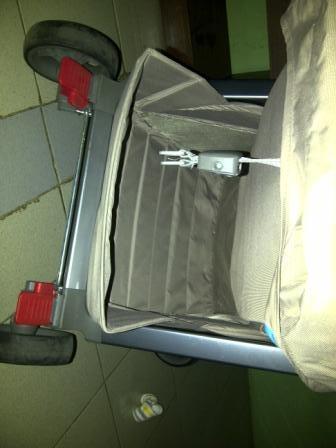 Jual GB Stroller C1020 Biru second
