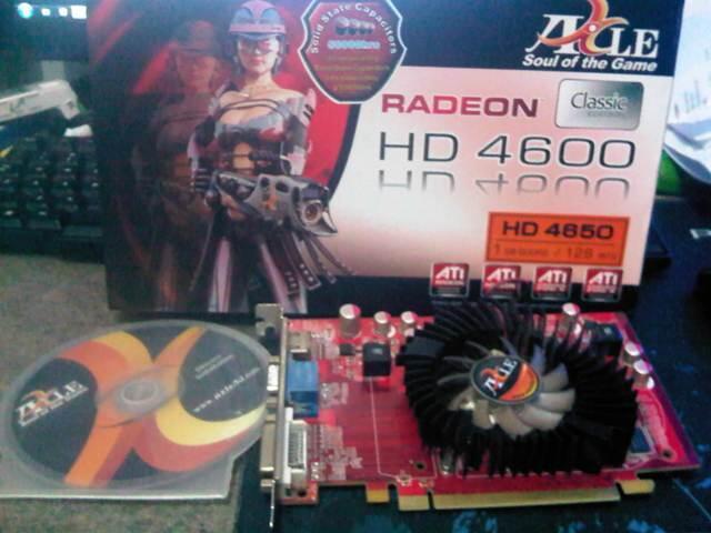 HD 4650 AXLE - 1GB 128Bit DDR2.. !! Murah...!!!!!