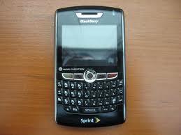 BLACKBERRY HURON 8830 GSM SECOND BLACK