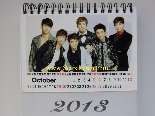 Jual Kalender Meja K-POP 2013 (import)