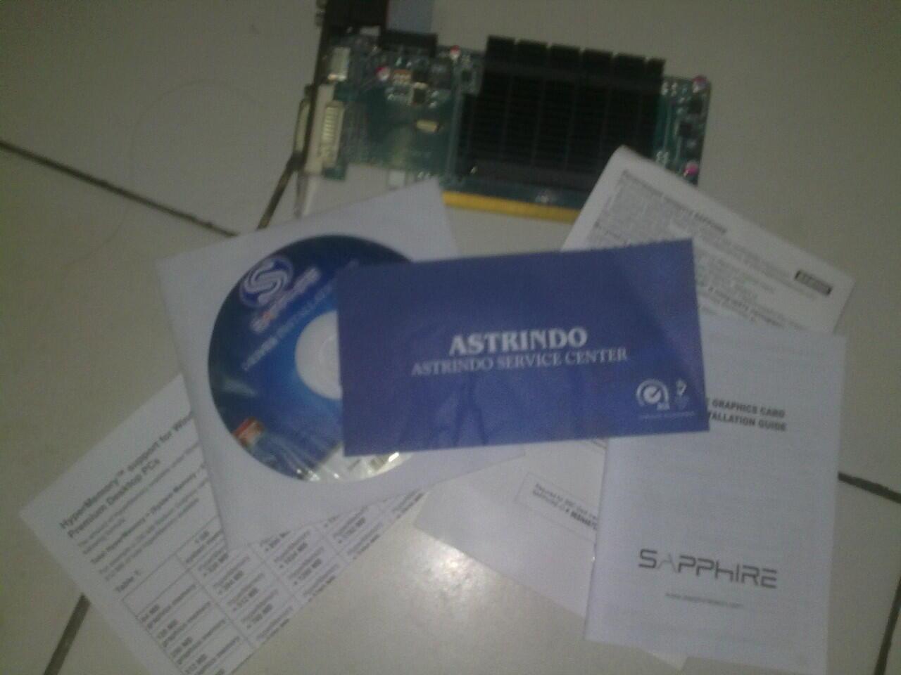SAPPHIRE RADEON HD 5450 1GB DDR3 PCIE HDMI