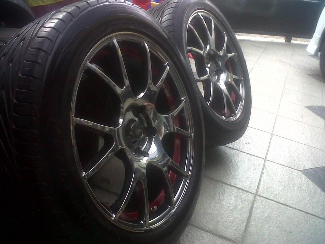 Jual velg racing wheel rs 02