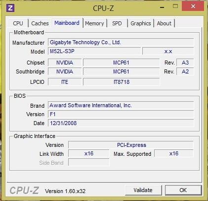 Paketan Gigabyte AM2+ AMD Kuma 7750+bonus