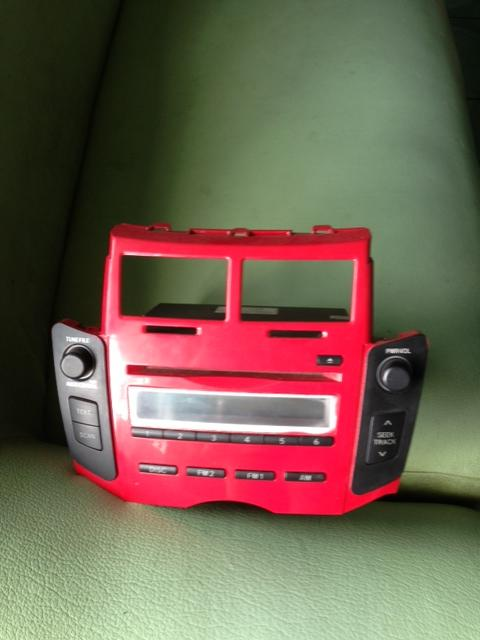 JUAL HEAD UNIT + Frame YARIS RED EDITION