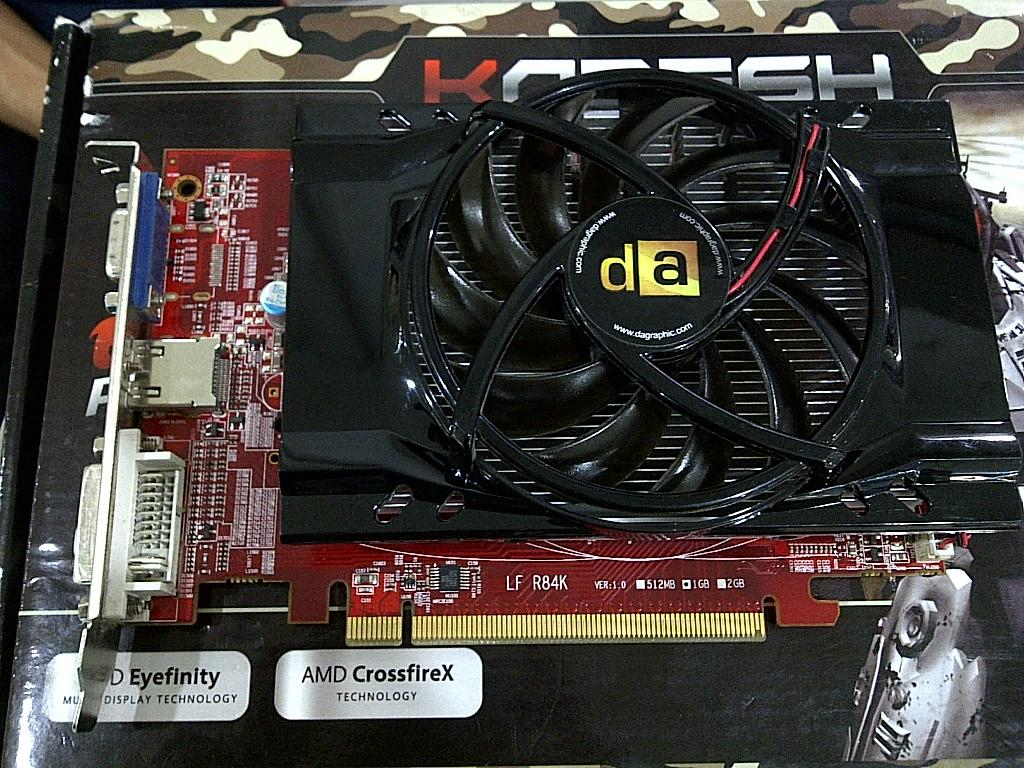 ATI Radeon HD 5670 1 GB 128Bit