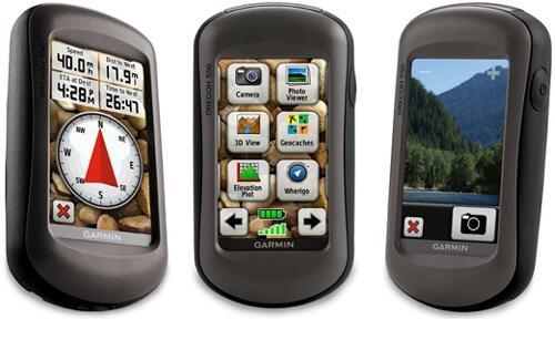 GPS Garmin Oregon 550 (kamera 3,2Mpx)