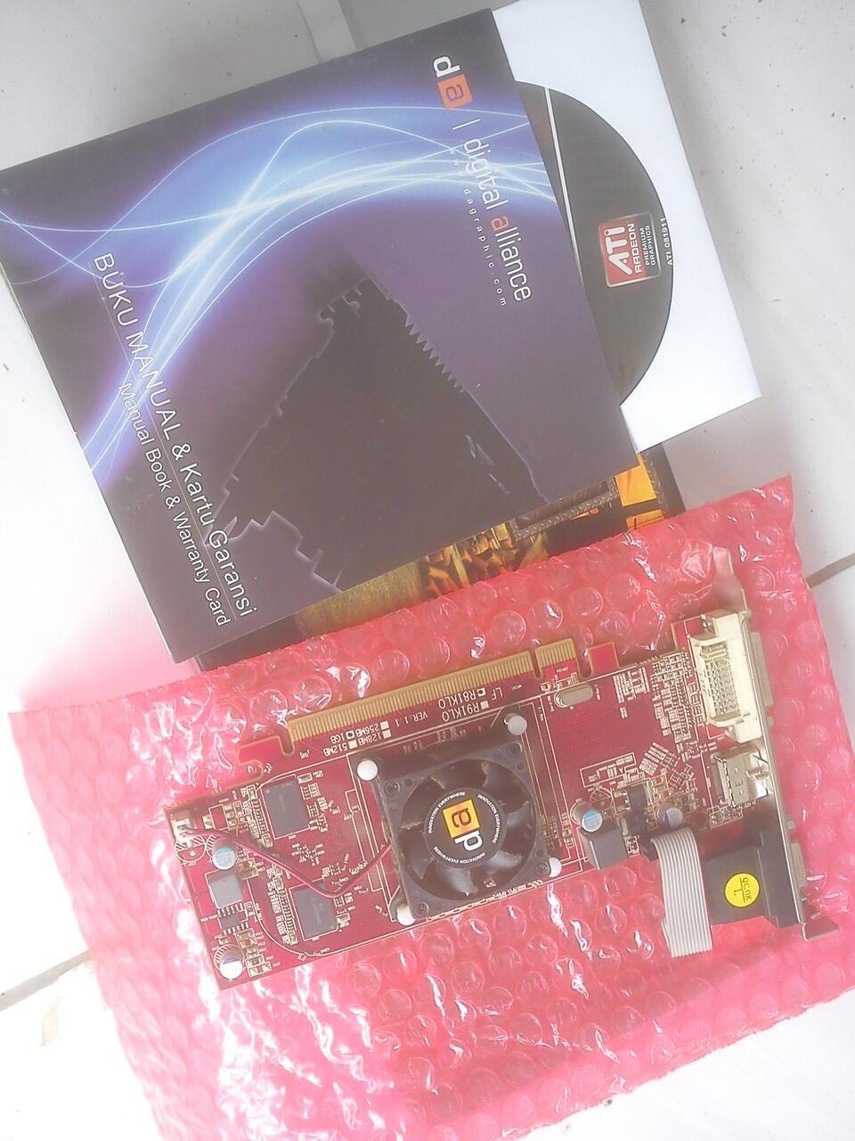 [REPOST] VGA PCi-E DA DA ATI RADEON HD 1Gb cuma Rp. 199.000 | KHUSUS HARI INI !!!