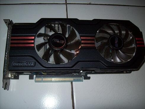 VGA Asus Geforce GTX 560Ti DirectCU II 1GB DDR5 Garansi Panjang [BANDUNG-JATINANGOR]