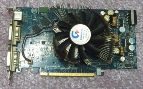 VGA Gigabyte GV-Nx79T256DP-RH PCI Ex 256MB 256bit DDR3