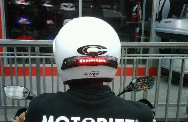 Lampu Helm Technology Wireless
