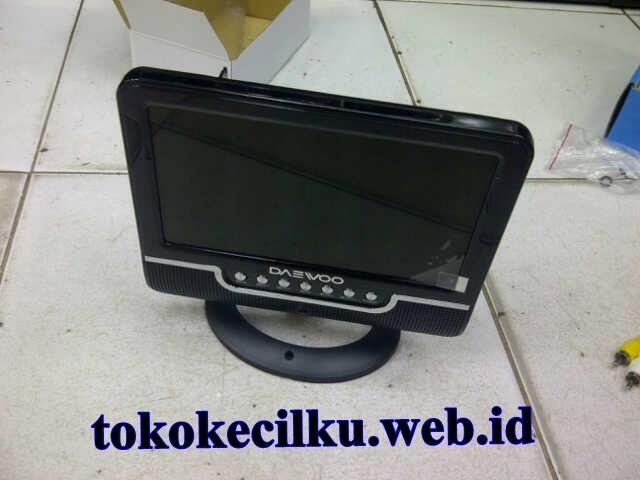 "TFT LCD TV PORTABLE DAEWOO 7.5"" ( HOT!!)"
