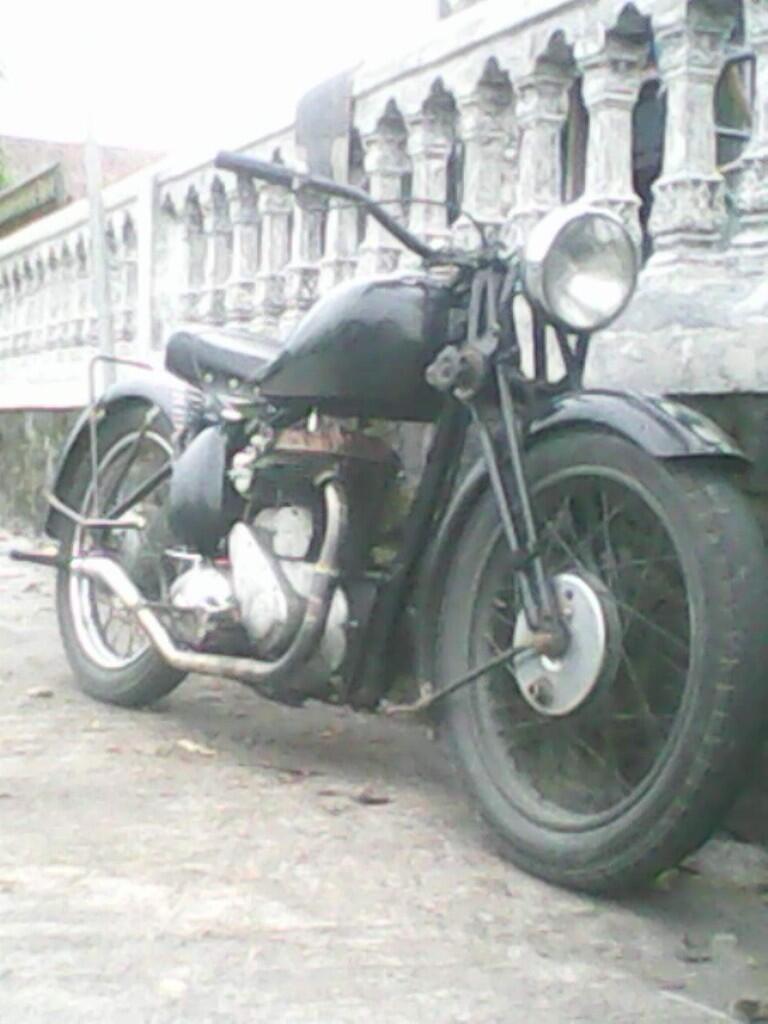 BSA M20 sideklep 500cc