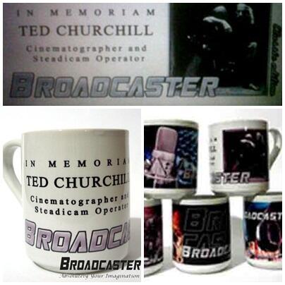 Mug Broadcaster