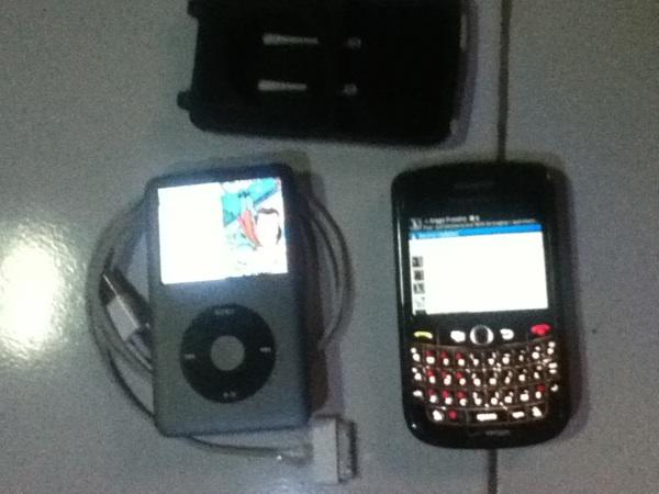 Jual ipod classic 120 giga + blackberry tour