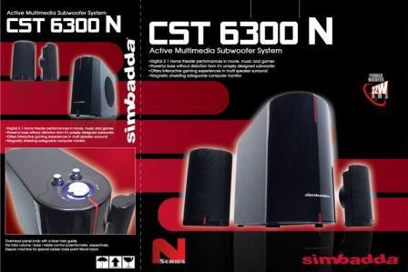 Speaker aktif subwoofer simbadda cst 6300N