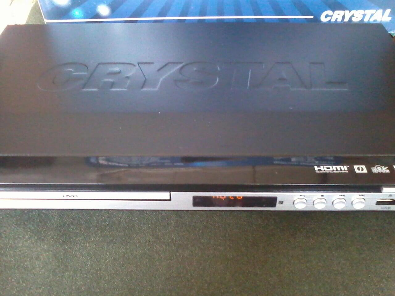DVD HDMI CRYSTAL