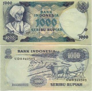 jual uang kuno tahun 1970-1979 ada 5 macam JAKARTA
