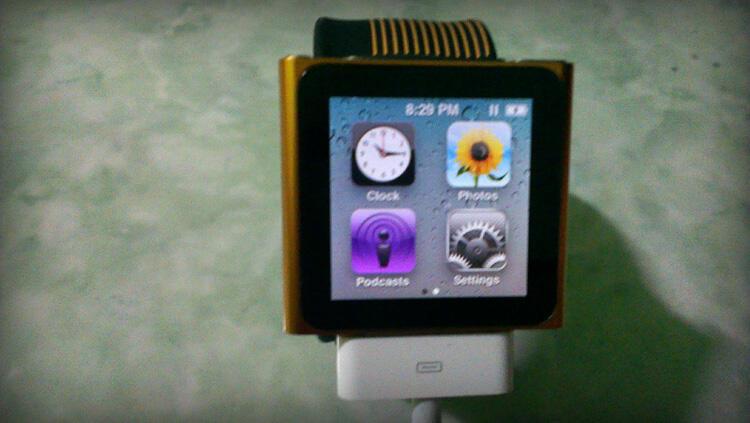 Jual Cepat iPod Nano Orange 6th Generation - 8GB - Rp 1,000,000 aja