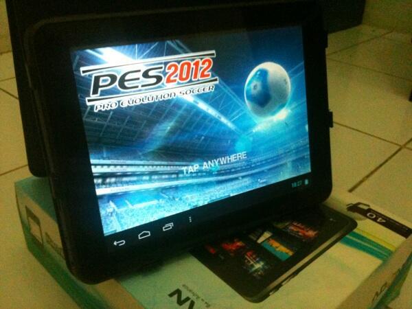 Dijual tablet Advan t4i lengkap di bogor