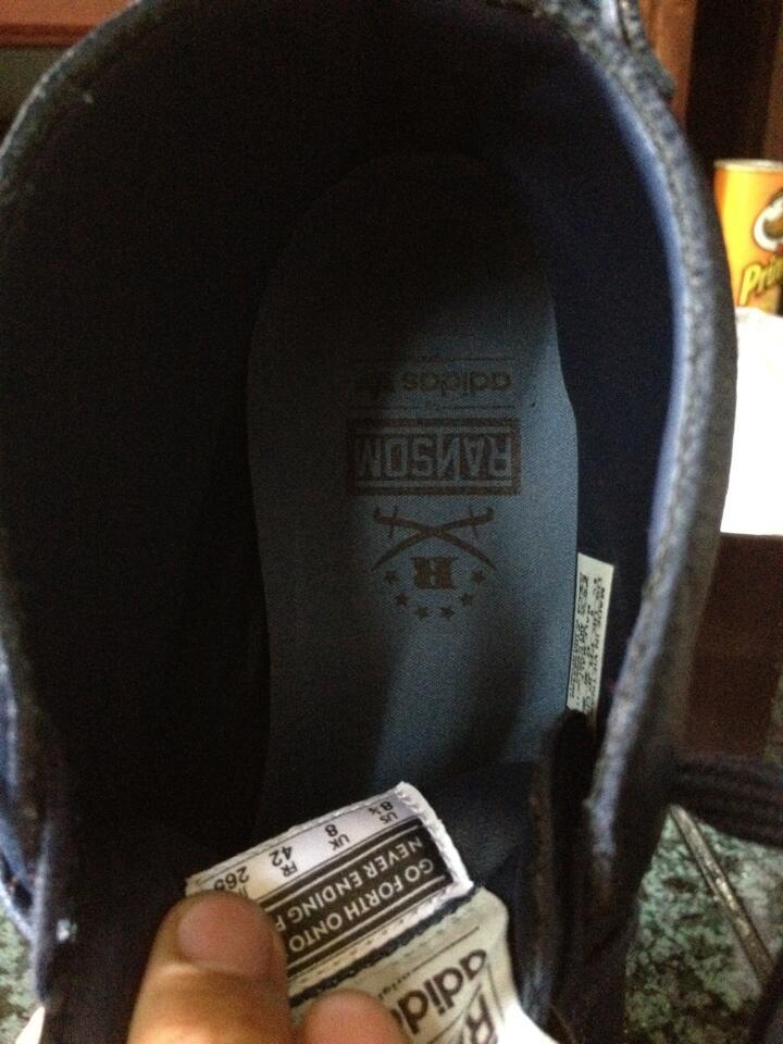 Sepatu Adidas Originals Ransom CREEK - FDT New Navy
