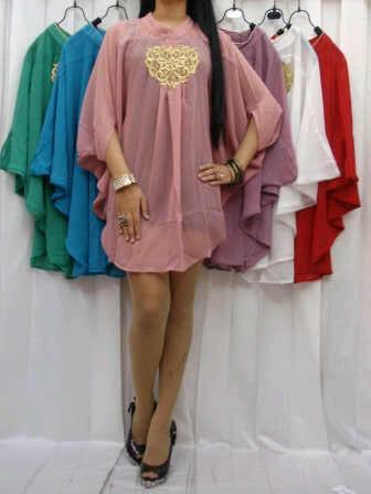 Fashion - Dress - Wanita - Cantik - Murah