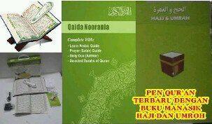 Digital pen al-quran + panduan manasik haji