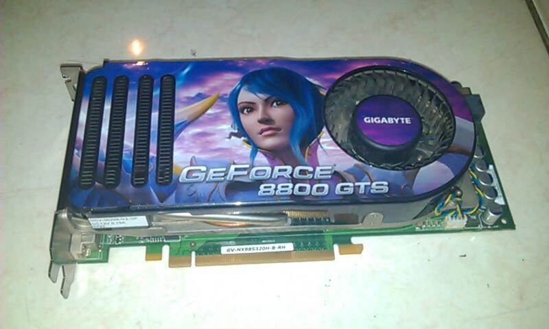 GIGABYTE GV-NX88S320H-B-RH GeForce 8800 GTS 320MB 320-bit GDDR3 PCI Express x16 HDCP