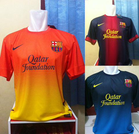 Soccer Jersey Grade Ori & Player Issue, SELUSIN @120rb