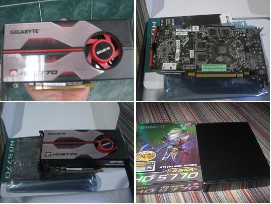 VGA Gigabyte HD5770 1gb ddr5