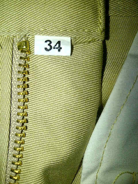 MAPLE CHINO PANTS NEW 100% NEVER USED ONLY 1 PIECE BONUS INSIDE