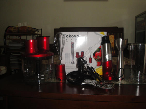 HAND BLENDER 5 IN 1 TOKOYO, COD TOKOYO NEW TOKOYO