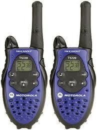 walkie Talkie motorola talkabout t5720 (jamin murah gan)