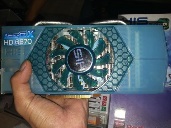 HIS 6870 ICEQ 1GB DDR5 SECOND LENGKAP GARANSI