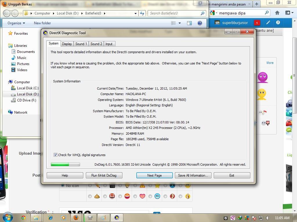 Скачать драйвера dx9 на windows 7